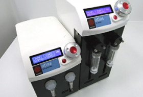 Intelligently dose chemical reactors at high flow rates with the Atlas Syringe Pump